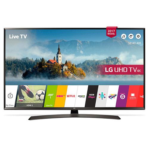 تلویزیون هوشمند 4k ال جی ۶۵ اینچ مدل 65UJ634V