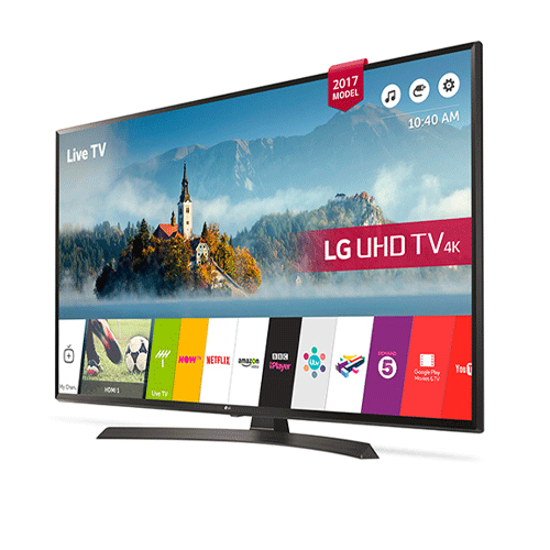 تلویزیون هوشمند 4k ال جی مدل 65UJ634V