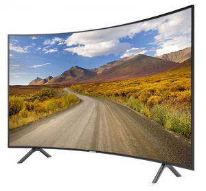 تلویزیون 4K منحنی سامسونگ ۵۵ اینچ مدل NU7300
