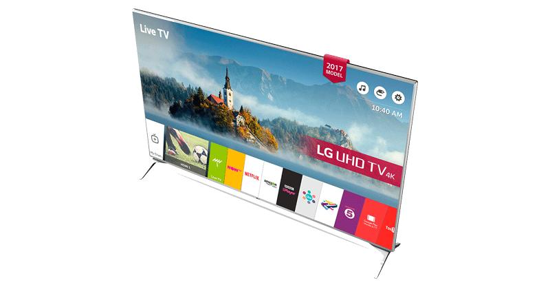 تلویزیون هوشمند 4K ال جی 60 اینچ مدل 60UJ634