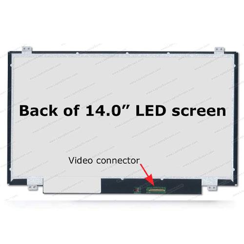 مانیتور لپ تاپ ال ای دی 14 اینچ اسلیم 30 پین NT140WHM-N41