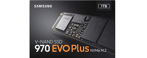 حافظهSSD اینترنال سامسونگ مدل 970EVOPLUS 1TB
